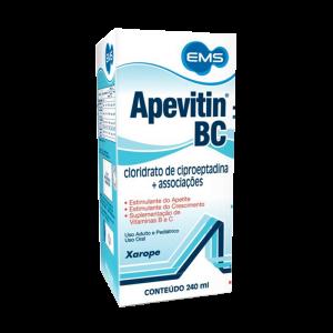 Apevitin BC xarope 240ml EMS