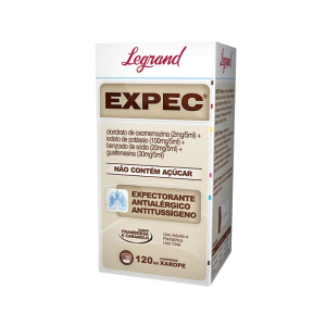 Expec xarope c/120ml Legrand