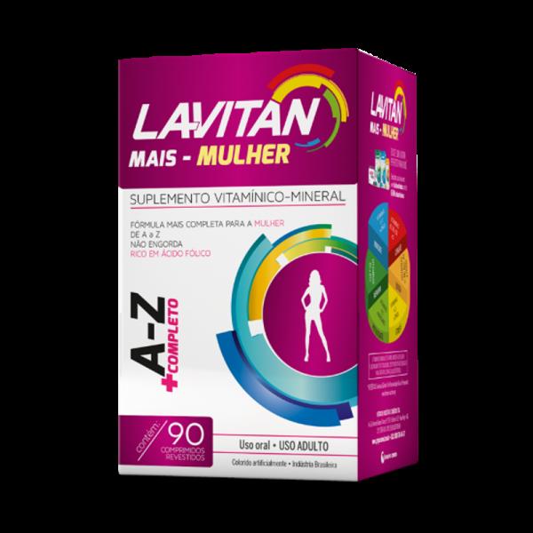 Lavitan mais mulher fr 90 drg (CIMED)