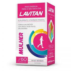 LAVITAN MAIS MULHER FR 60 DRG (CIMED)