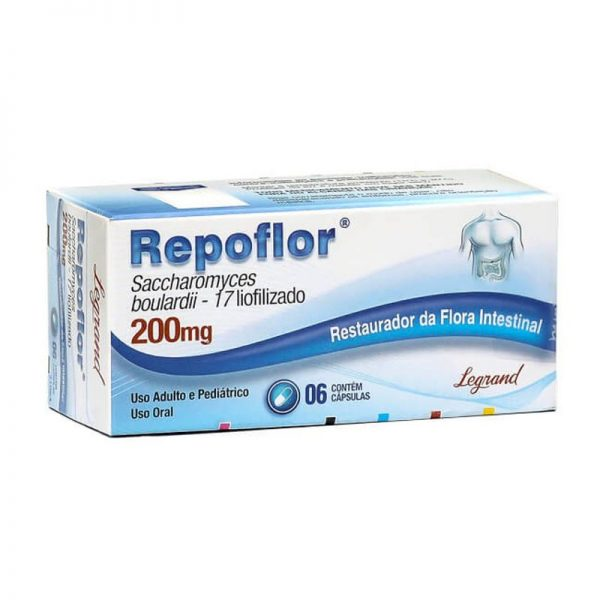 Repoflor caps 200mg cx c/6 LEGRAND