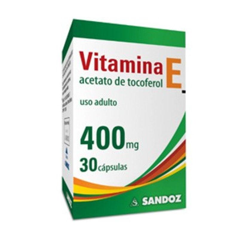VITAMINA E 400MG 30CAP SANDOZ