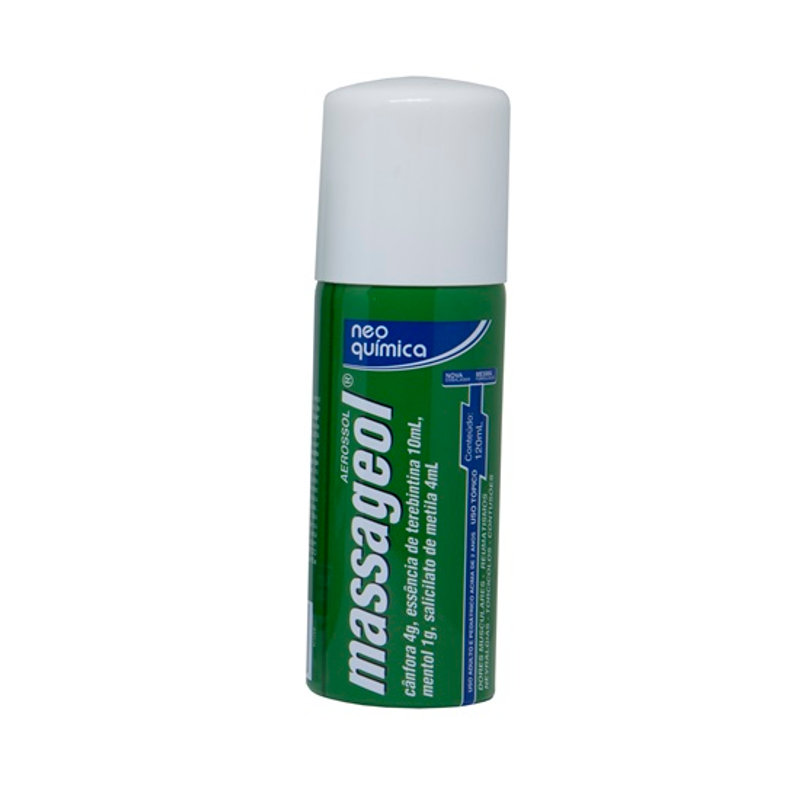 Massageol aerosol 120 ml NEO QUÍMICA