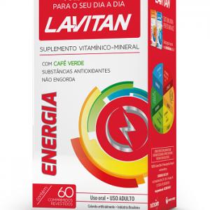 LAVITAN ENERGIA CAPS CX C/60 (CIMED)