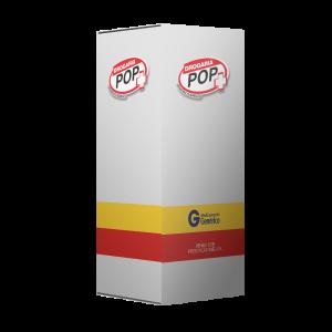 Caixa modelo para produto genérico
