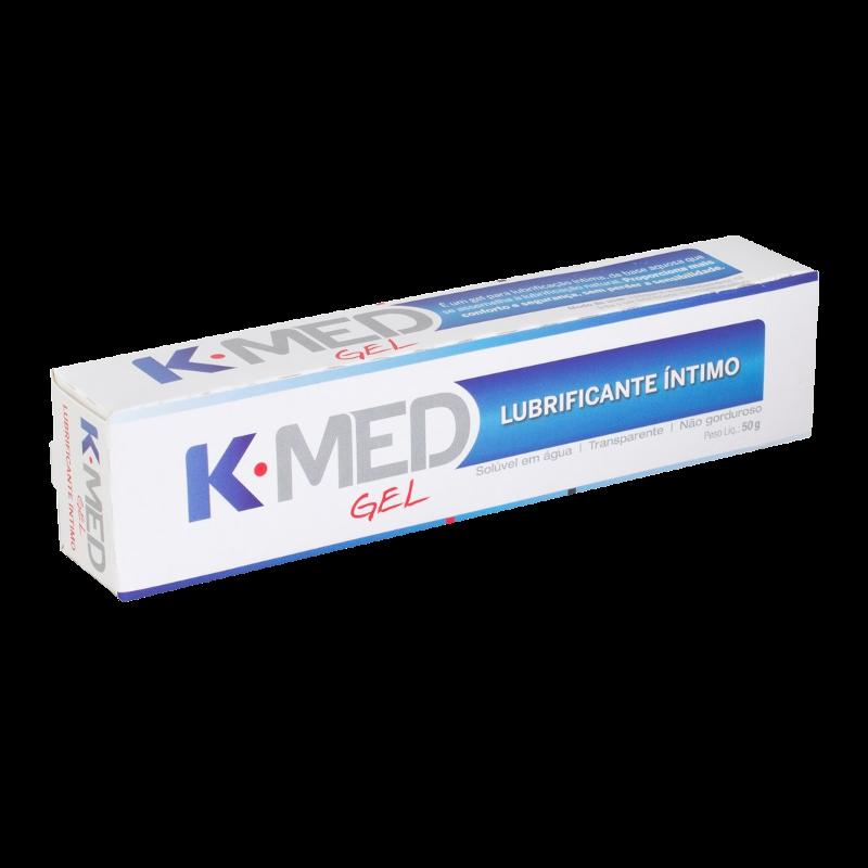 KMED GEL LUBRIFICANTE INTIMO COM 50GR