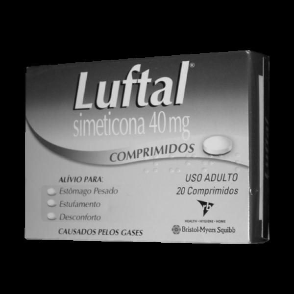 Luftal 40mg cx com 20 comprimidos
