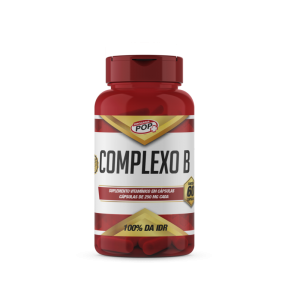 Complexo B caps 250mg cx c/60 POP