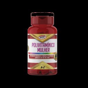 Polivitamínico Mulher caps 500mg cx c/60 POP