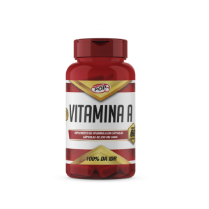 Vitamina A caps 250mg cx c/60 POP