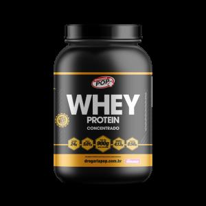 Whey Protein Morango 900gr POP