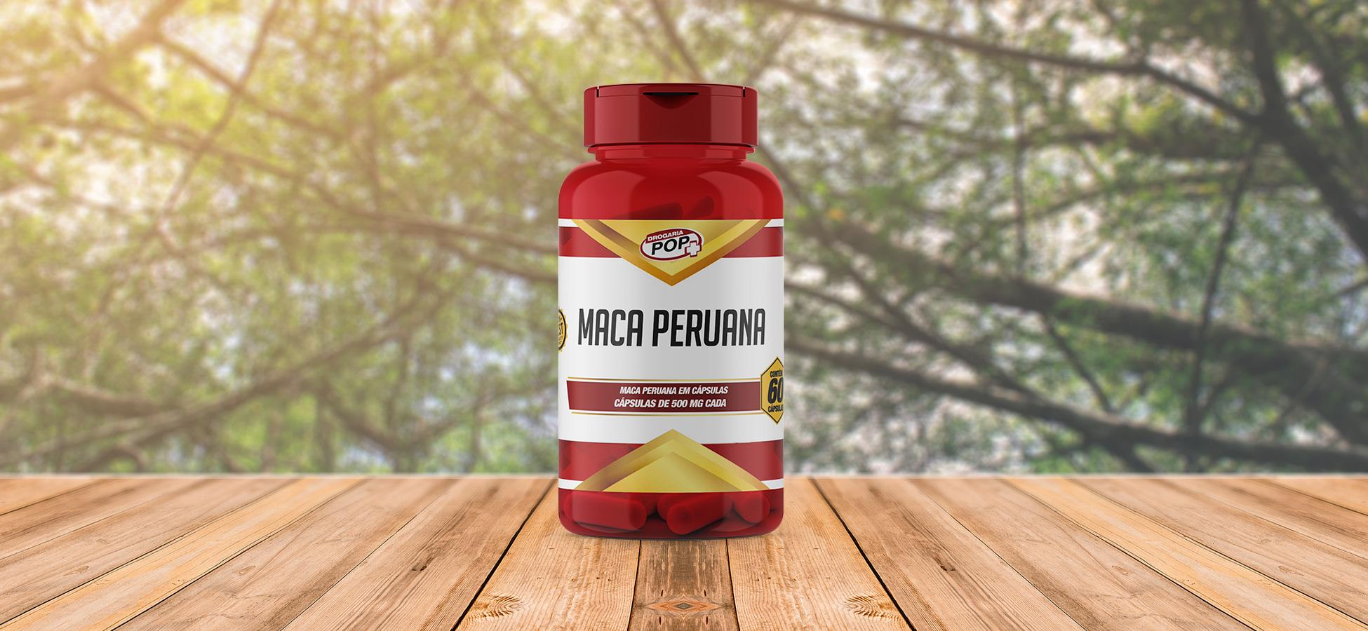 Banner: Maca Peruana