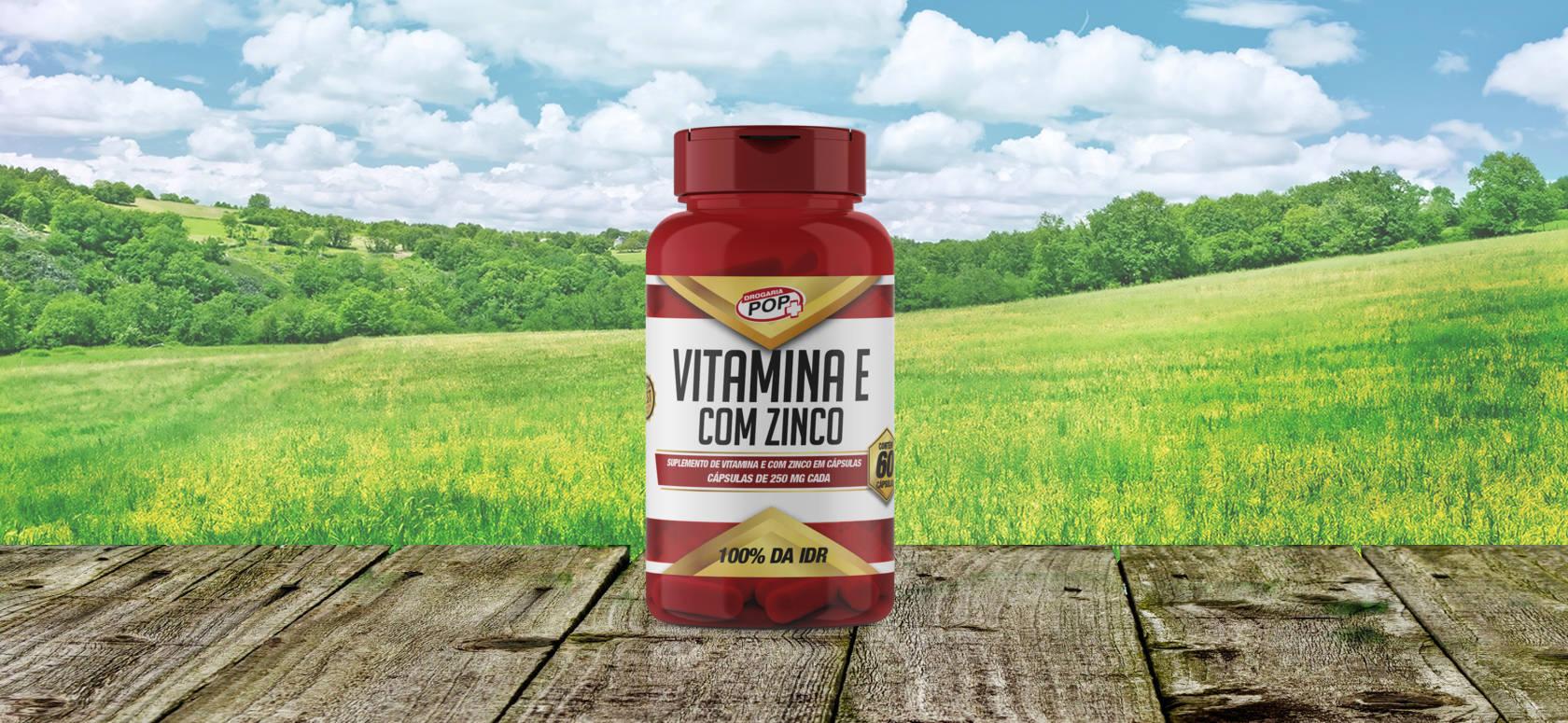 Vitamina E com Zinco