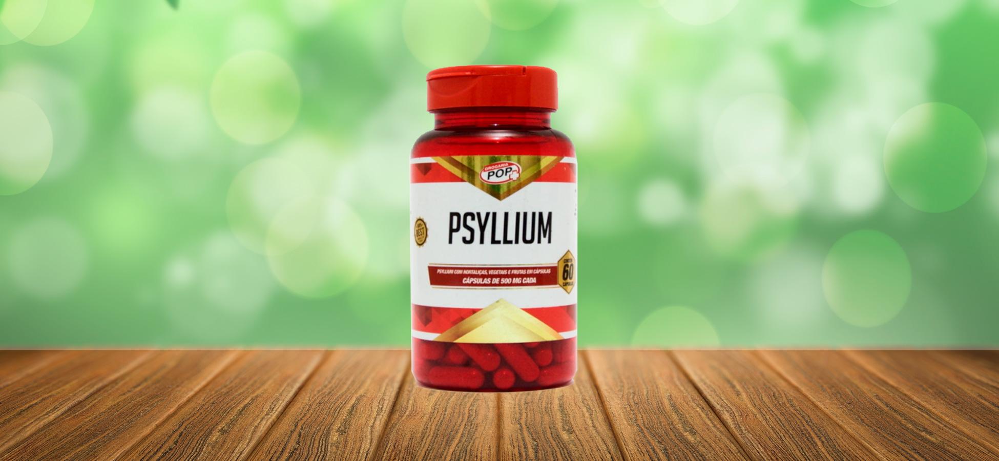 Psyllium 60 cápsulas