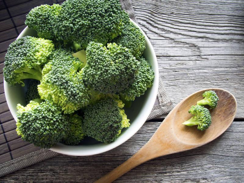 Brócolis, fonte de ferro
