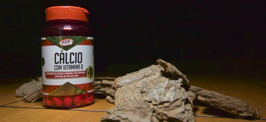 Cálcio com Vitamina D é na Drogaria POP