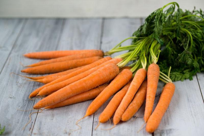 Cenoura fonte de betacaroteno