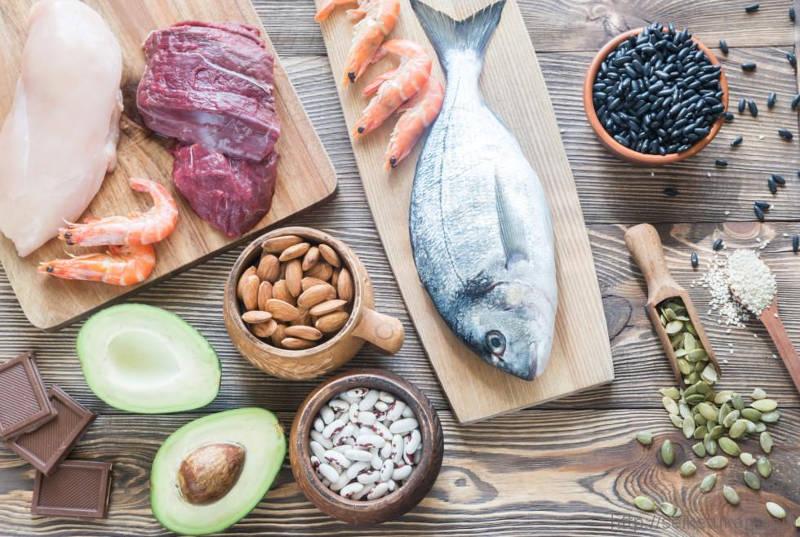 Fontes de zinco e vitamina c