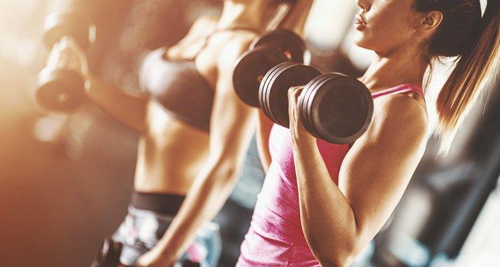 Mulheres fazendo musculação - Carnitina