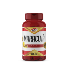 Maracujá caps 500mg cx c/60 POP